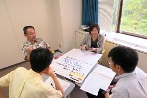 8月24日科目設計法 議論の様子